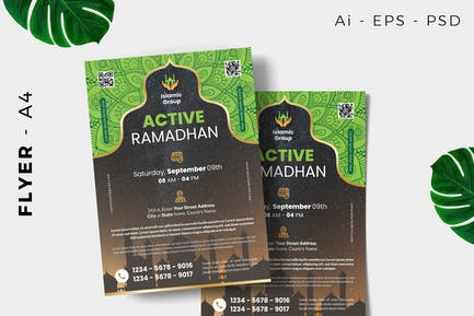 Islamic / Moslem Event Flyer Design