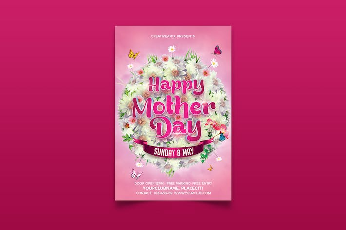 Thumbnail for Mothers Day Flyer