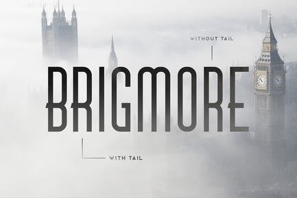 Brigmore Typeface
