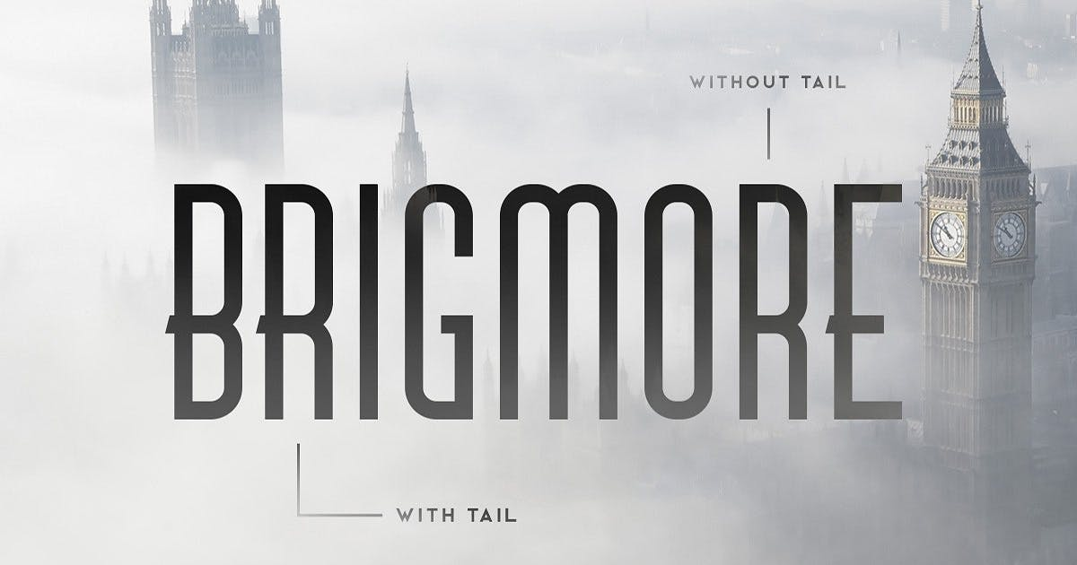 Download Brigmore Typeface by MehmetRehaTugcu