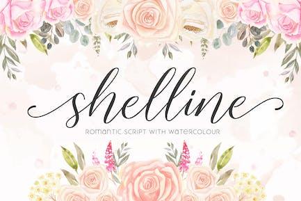 Shelline - Romantic Script