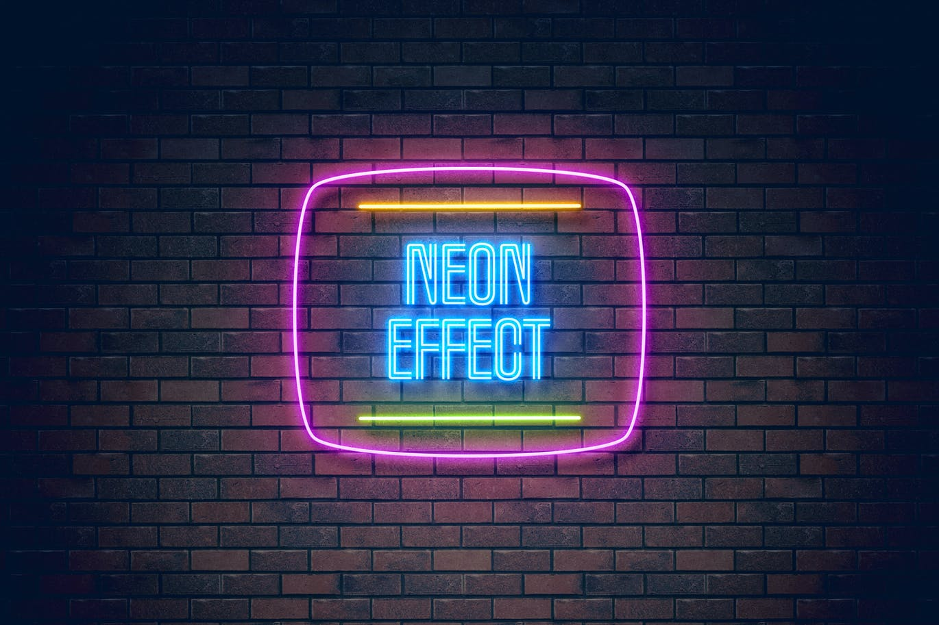 Neon Light Effect By Erigonn On Envato Elements