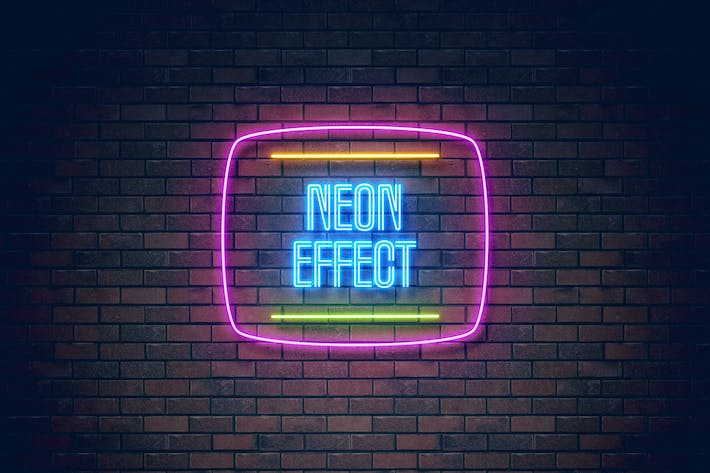 light cms templates - neon light effect by erigonn on envato elements