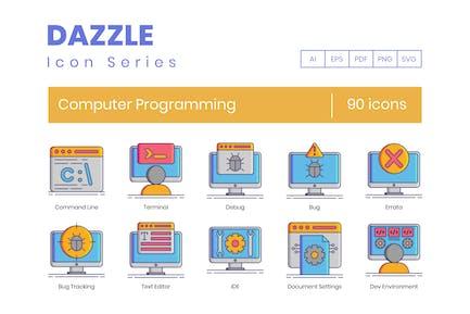 Computer Programming & Website Development Icons