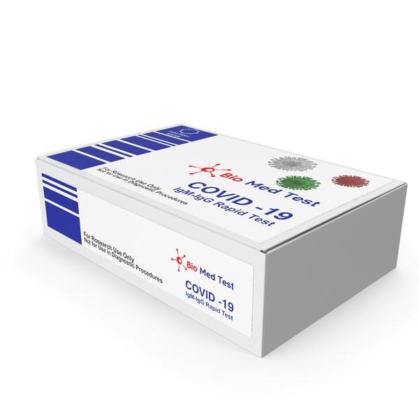 Paquete de pruebas de diagnóstico rápido COVID 19