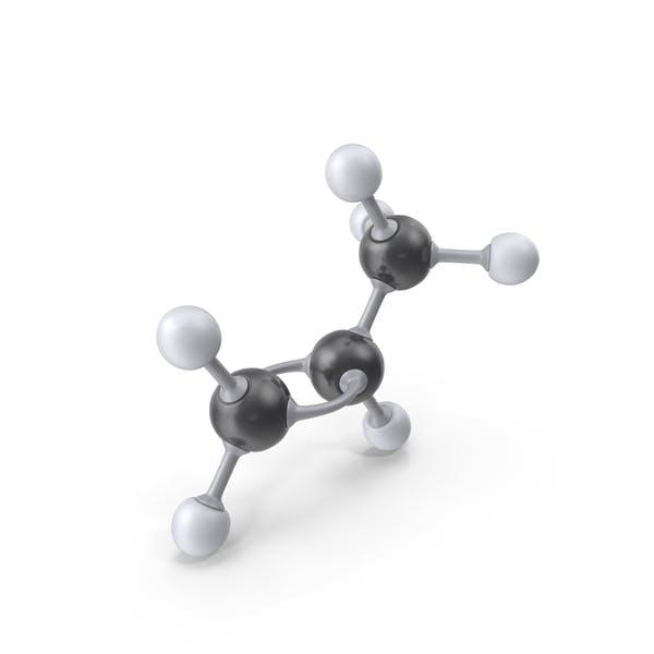 Propene Molecule