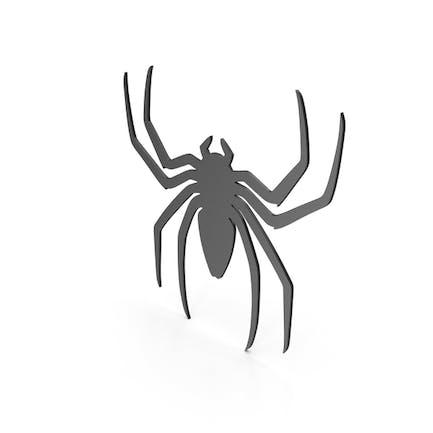 Spinnenfigur Schwarz