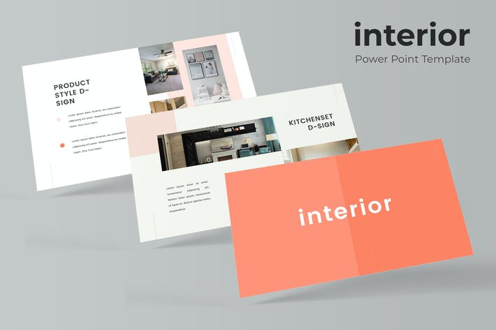 Thumbnail for Interior - Powerpoint Template
