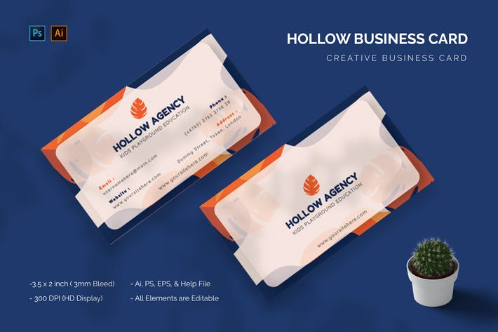 Hollow Card - Business Card