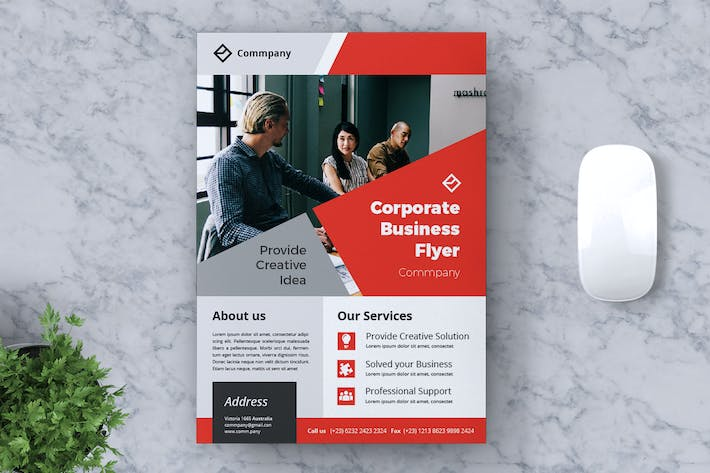 Thumbnail for Corporate Business Flyer Vol. 12