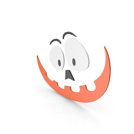 Pumpkin Figure Cartoony