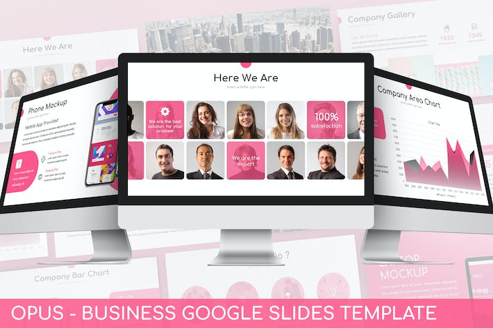 Thumbnail for Opus - Business Google Slides Template