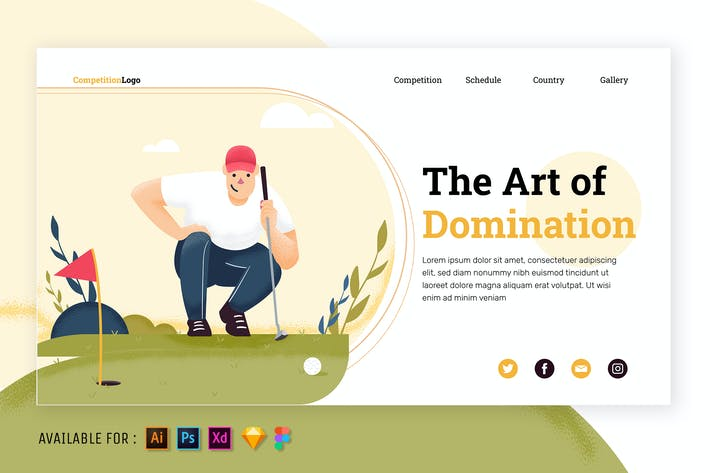 Thumbnail for Playing Golf Like a Pro - Web Illustration
