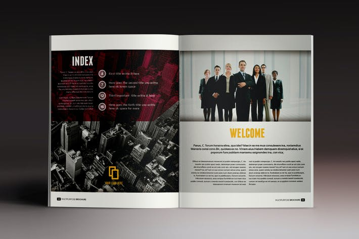 Thumbnail for Multipurpose Brochure Indesign Template