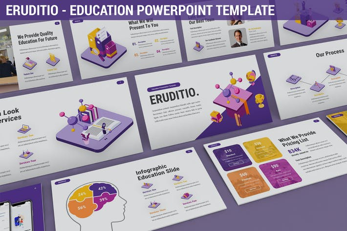 Thumbnail for Eruditio - Education Powerpoint Template