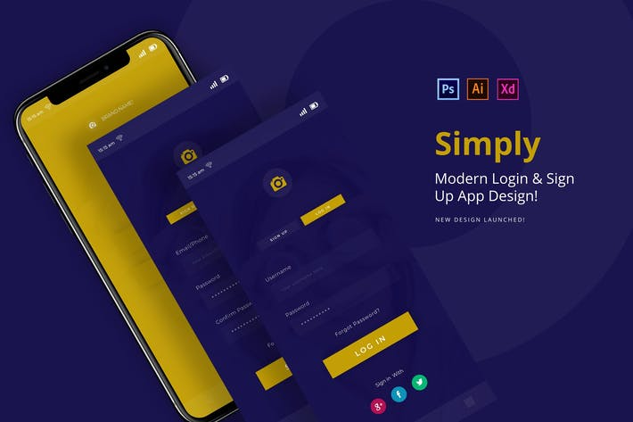 Thumbnail for Simply Login App