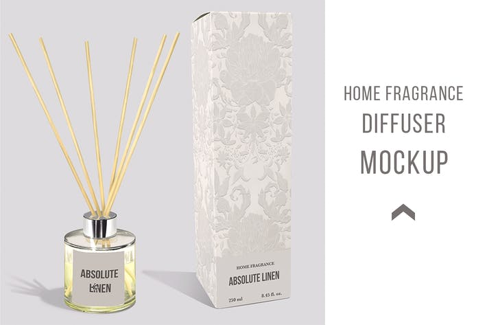 Cover Image For Diffuser home fragrance Mockup