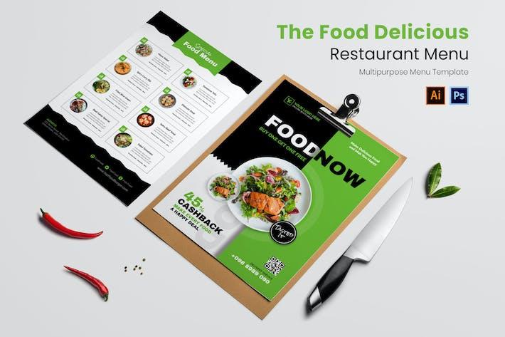 Thumbnail for Food Delicious Restaurant Menu
