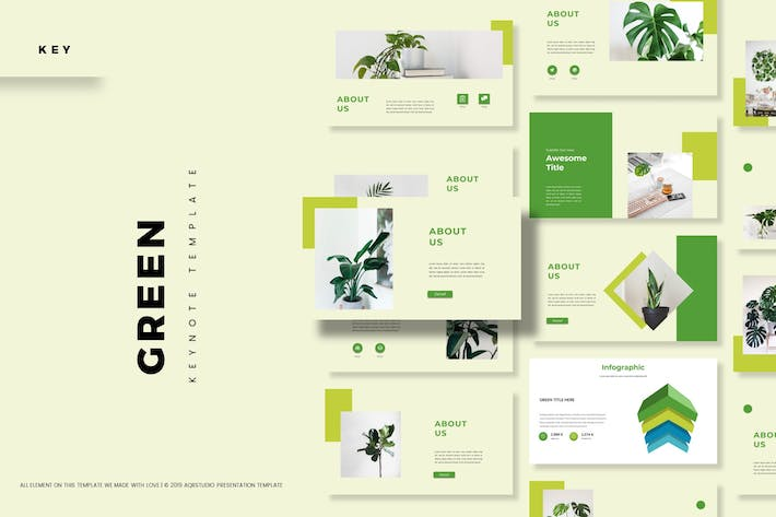 Thumbnail for Green - Keynote Template