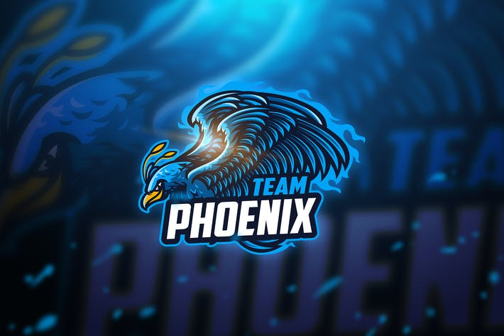 Thumbnail for Phoenix - Mascot & Esport Logo