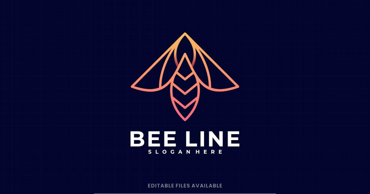 Download Bee Line Art Logo by artnivora_std