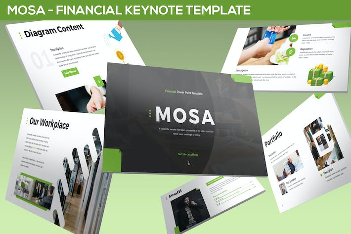 Mosa - Financial Keynote Template