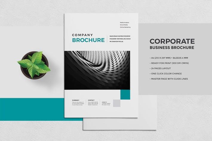 Thumbnail for Modern Business Brochure