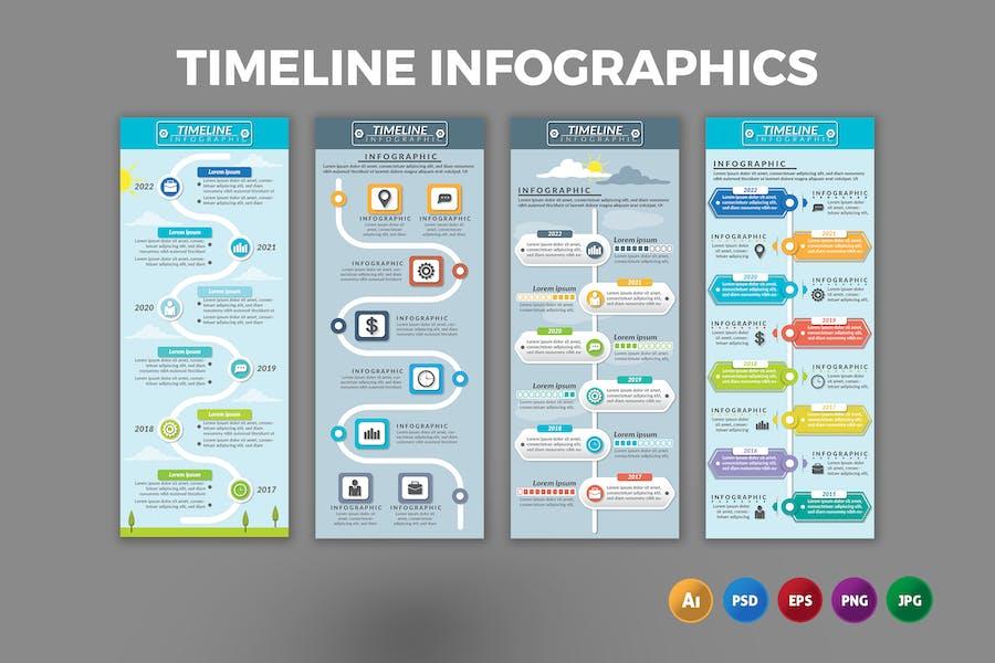 Timeline – Infographics Design