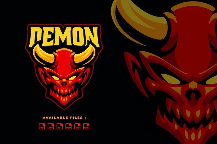 Thumbnail for Head Evil Sport and Esport Logo