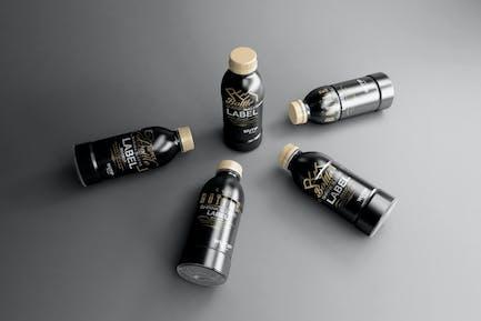 PET Bottle/ Shrink Sleeve Label Mockup