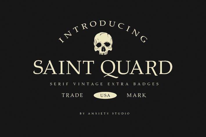 Thumbnail for Saint Quard Police de caractères