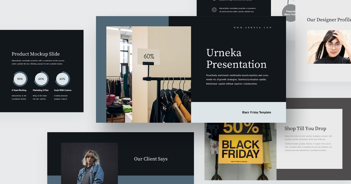 Download Urneka : Black Friday Sale Keynote by Madlistudio