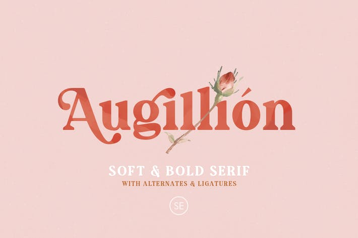 Thumbnail for Augillion - Soft Bold Serif