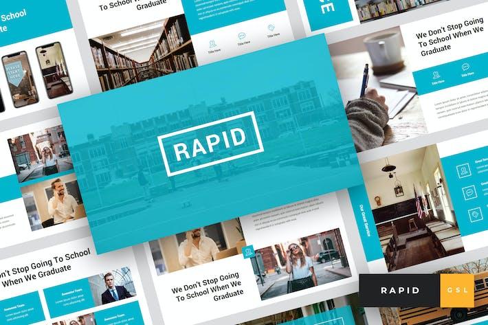 Thumbnail for Rapid - Education & School Google Slides Template
