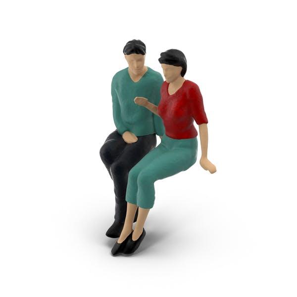 Thumbnail for Miniature Toy Couple
