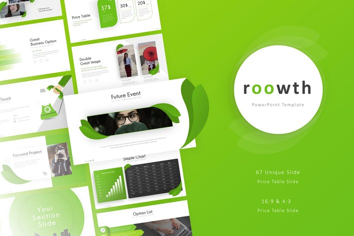 Thumbnail for Roowth - Business Presentation