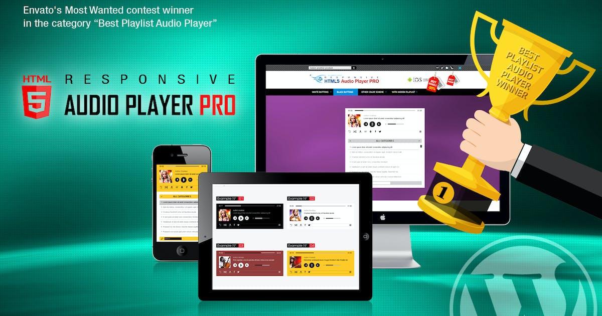 Download Responsive HTML5 Audio Player PRO WordPress Plugin by LambertGroup
