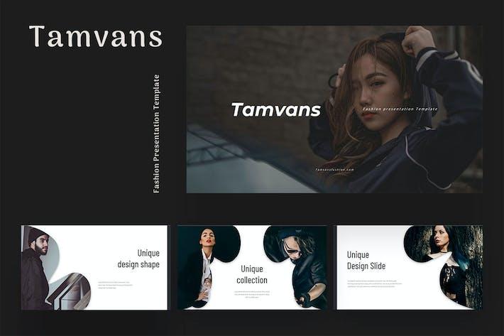 Thumbnail for Tamvans - Fashion Keynote Presentation
