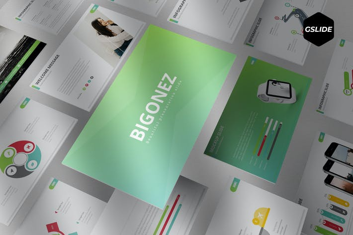 Thumbnail for Bigonez - Google Slides Template