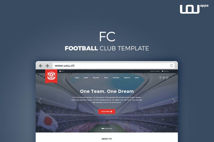 Thumbnail for FC - Football Club Template