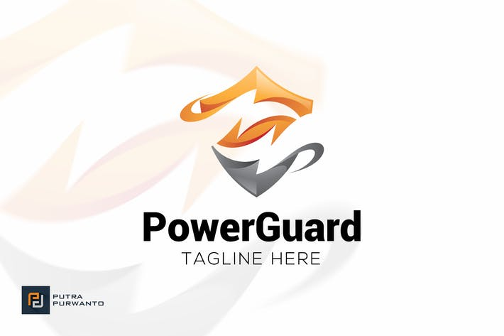 Thumbnail for Power Guard - Logo Template