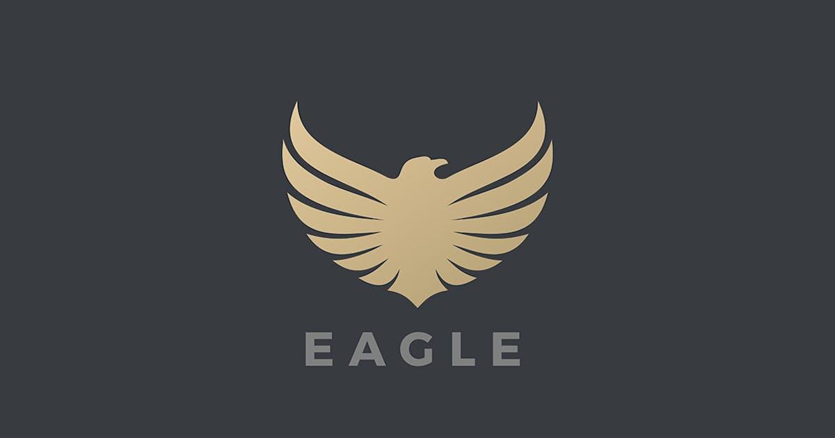 Download Eagle bird Flying Logo heraldic Luxury style by Sentavio