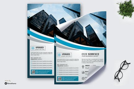 Upgraded - Creative Business Poster HR