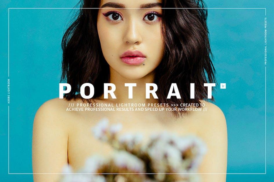 Download Portrait Lightroom Presets by GOICHA