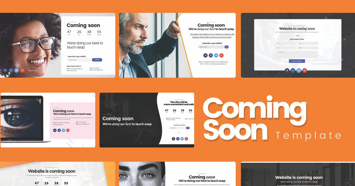 Download Ultimate Under Construction / Coming Soon Template by UserThemes