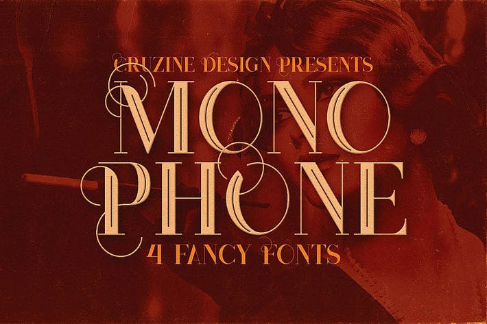 Thumbnail for Monophone - Fancy Font