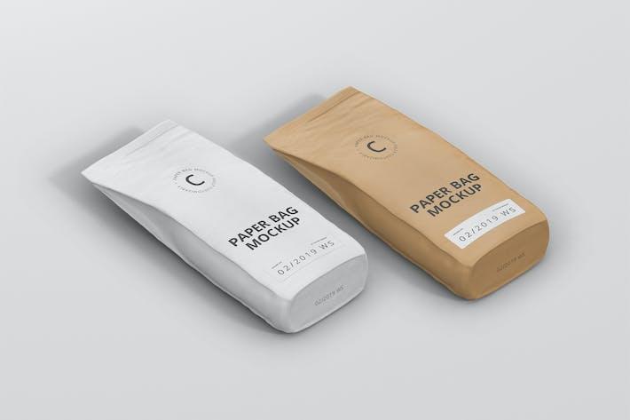 Thumbnail for Paper Bag Mockup