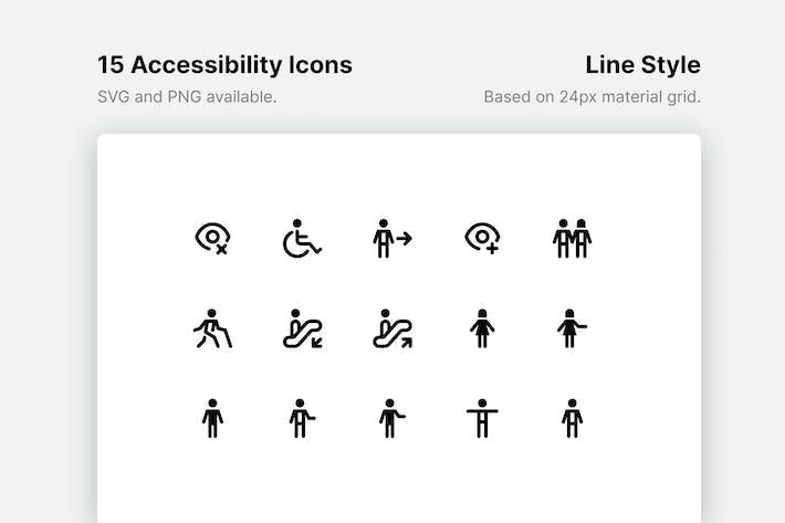 Thumbnail for Иконки линий специальных возможностей