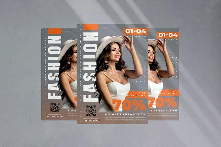 Thumbnail for Sale Fashion Flyer