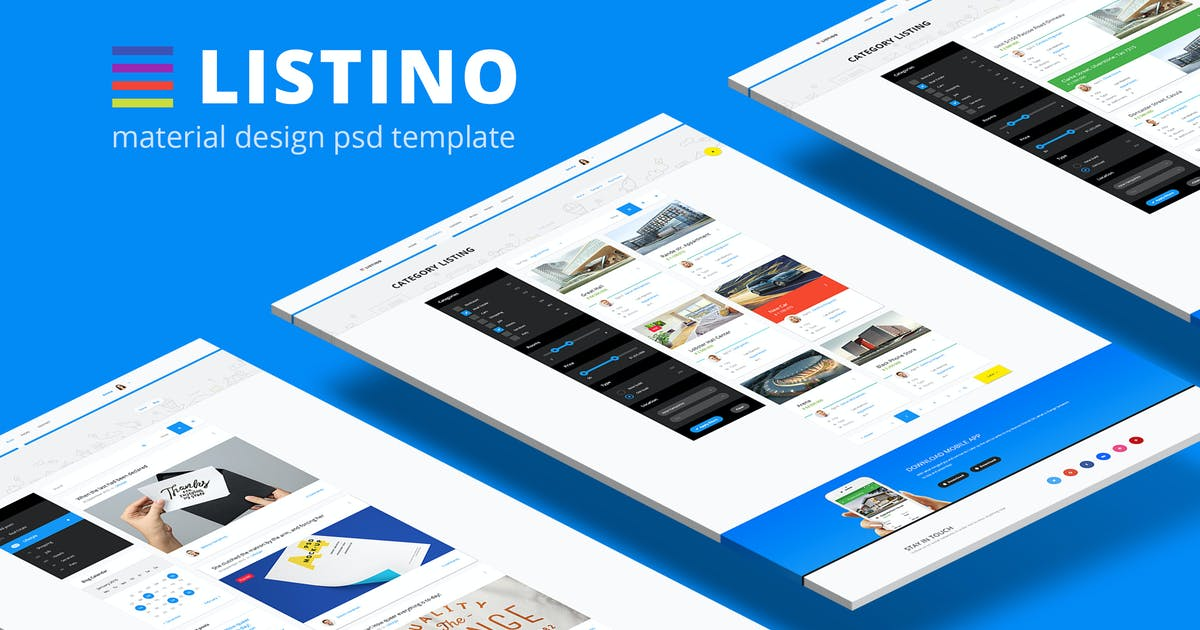 Download Listino — Multipurpose Directory Listing PSD Templ by torbara